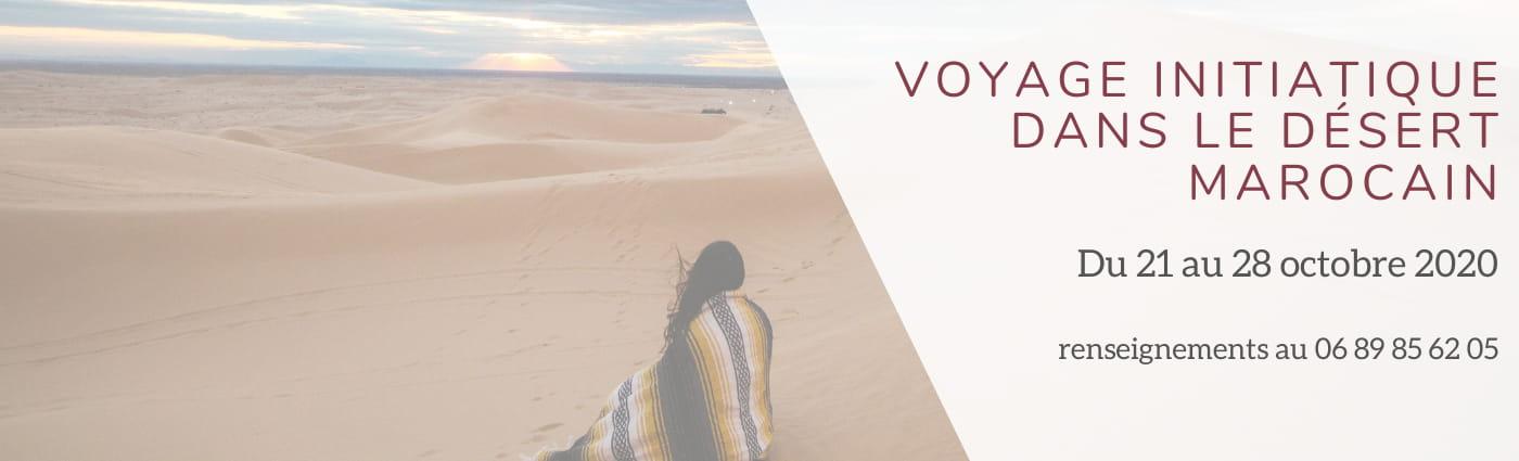 Voyage initiatique dans le désert marocain