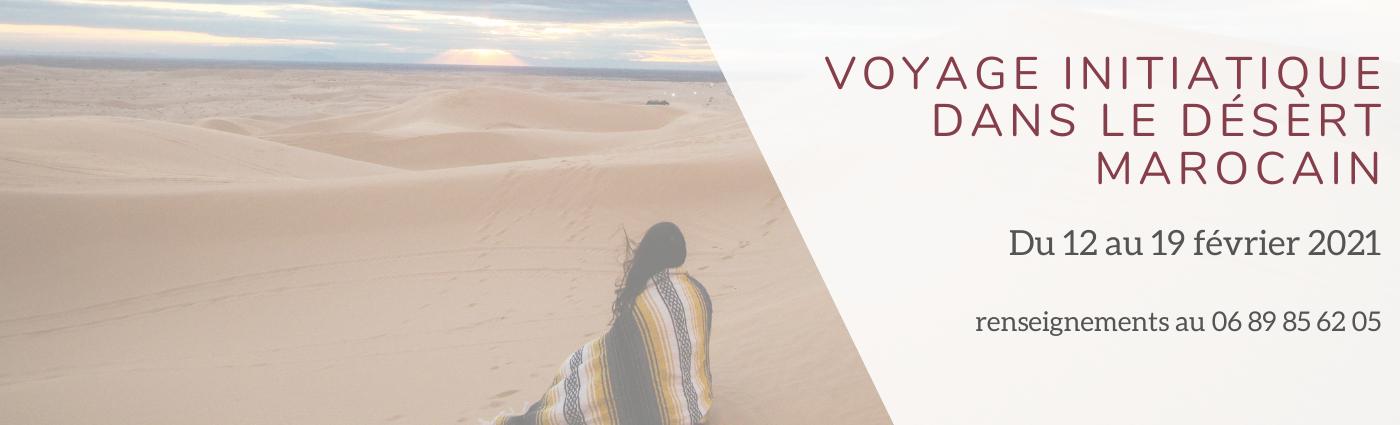 slide désert marocain